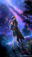 COMMISSION - Nao and Shuuhei by WhiteNamikaze