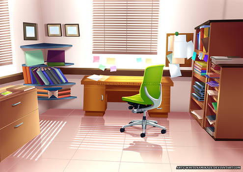 COMMISSION - Office Interior