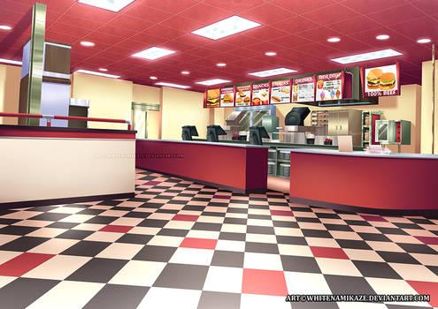 COMMISSION - Restaurant Interior
