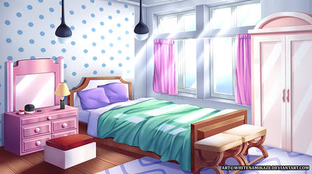COMMISSION - Girl's Bedroom Interior