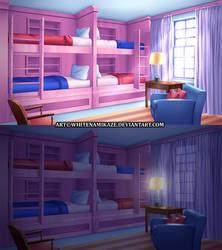 COMMISSION - Dorm Bedroom