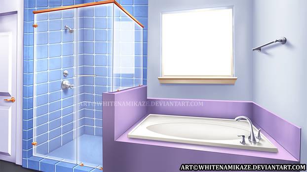 COMMISSION - Bathroom Interior