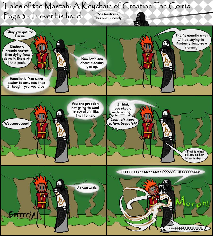 KoC Fan Comic - 3 by LaFreeze