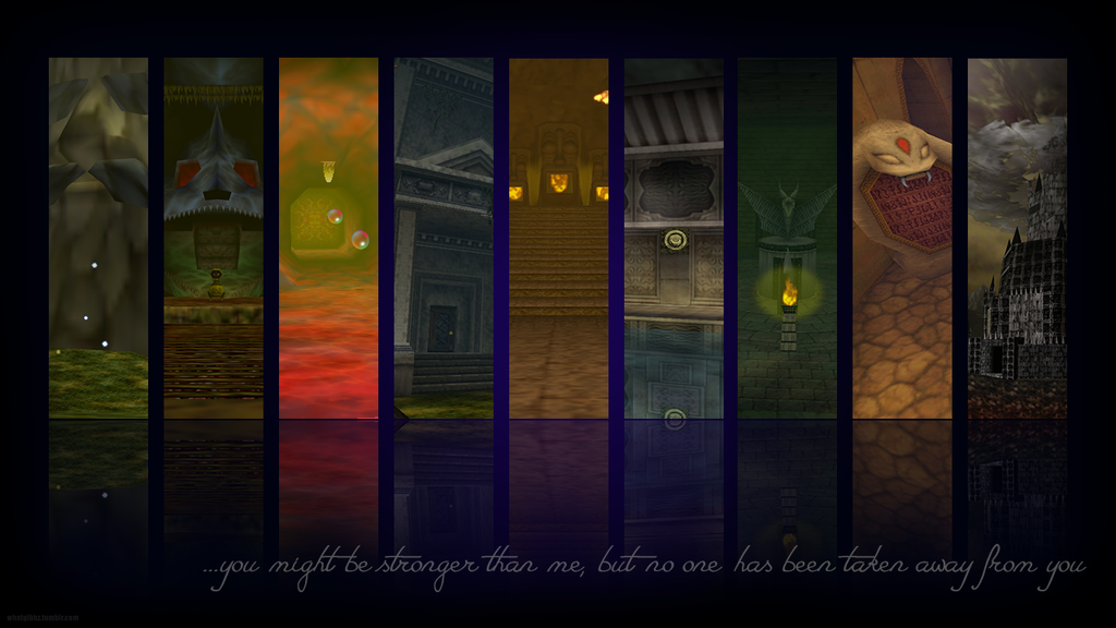 Legend Of Zelda Ocarina Time Dungeon Wallpaper By WhatGibbz
