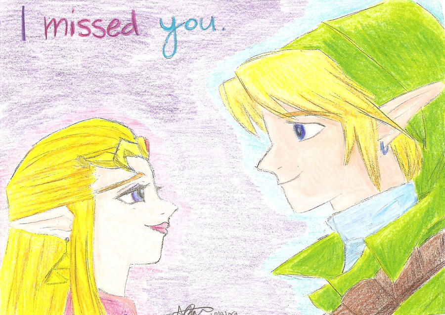 I missed you by allieryan