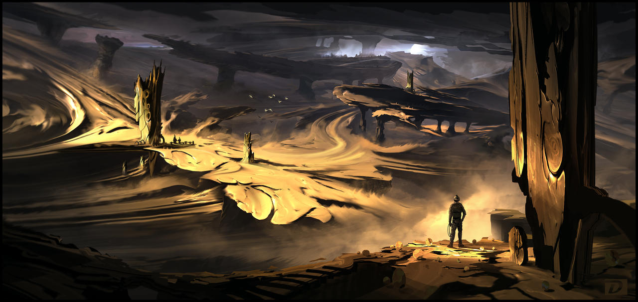 Sulfur Dunes by DominiquevVelsen