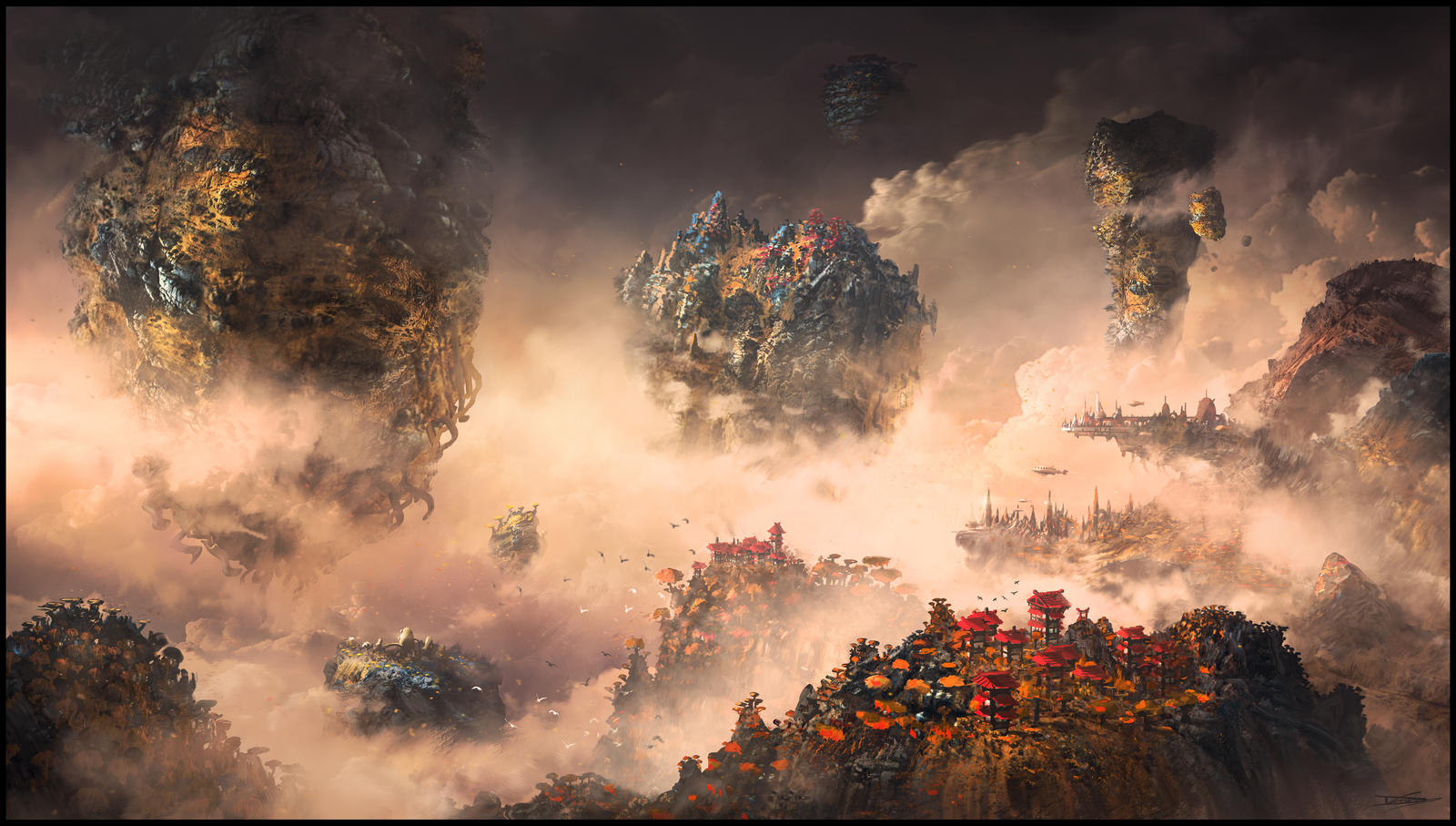 Autumn Isles by DominiquevVelsen