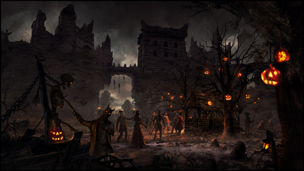 Haunted Castle by DominiquevVelsen