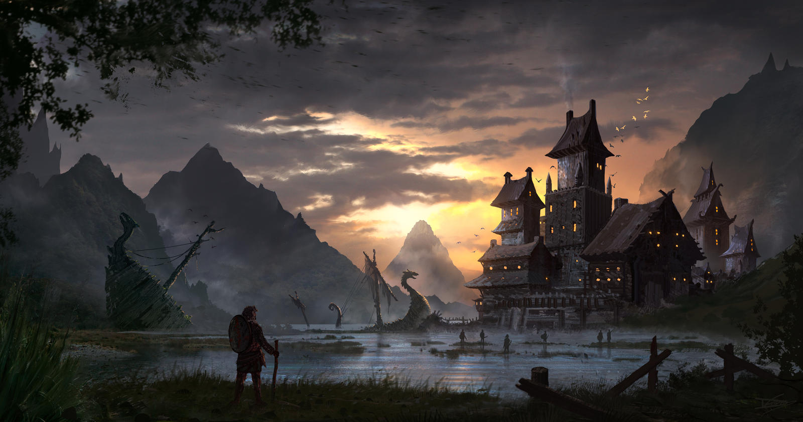 Daybreak by DominiquevVelsen