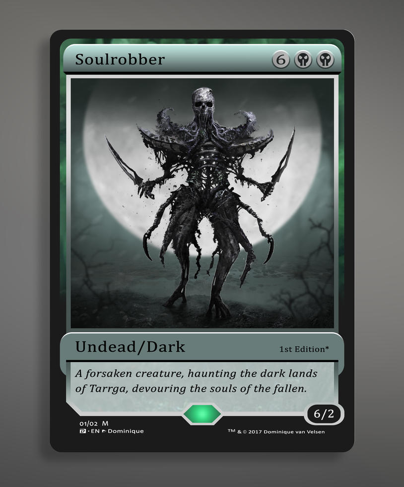 Soulrobber by DominiquevVelsen