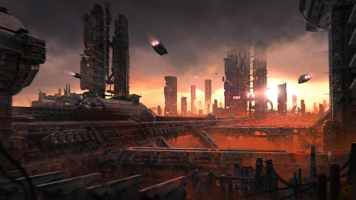 Dystopia 01 by DominiquevVelsen