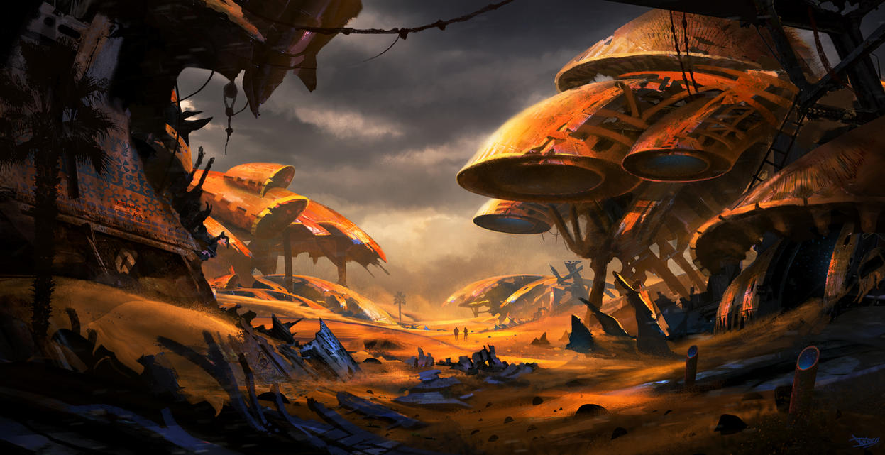 Scrapyard by DominiquevVelsen