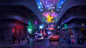 Cyber street by DominiquevVelsen