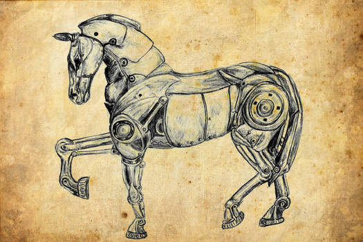 Mecha horse