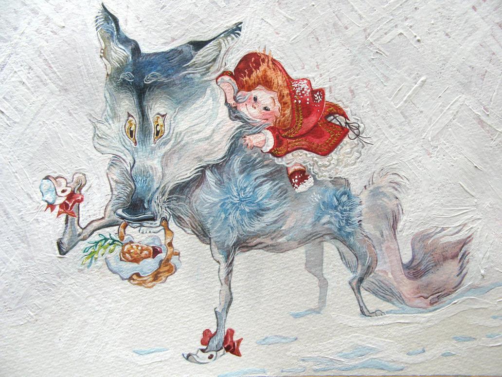 Le Petit Chaperon Rouge by ReineDesCanards