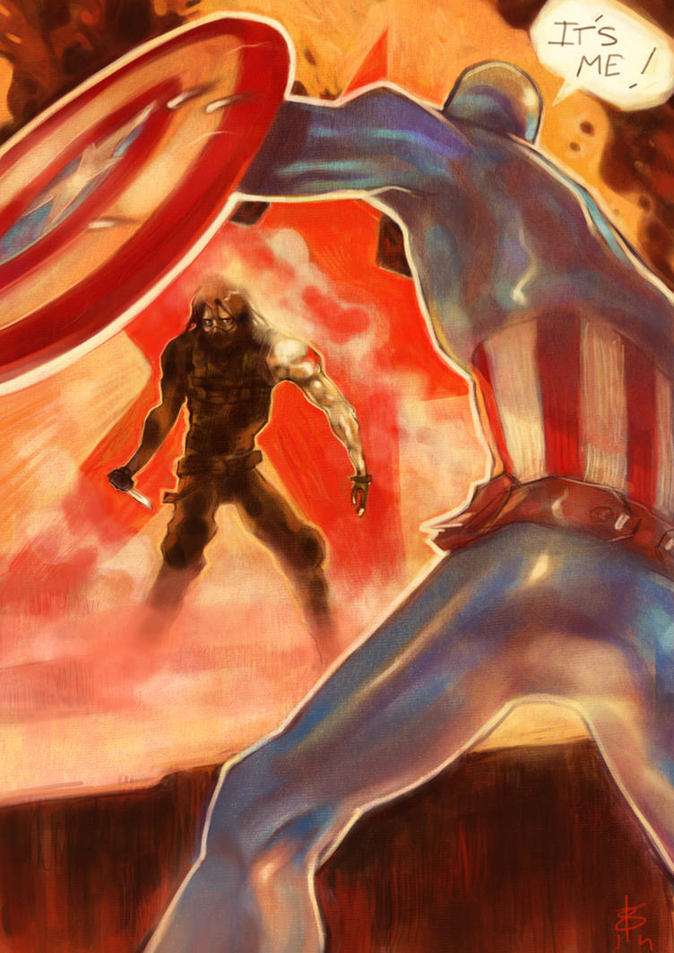 Captain America - The Winter Soldier by ReineDesCanards