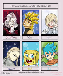 CHALLENGE ~ Six fan art ~ by NatsuLannister