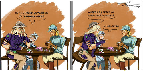 Bad Jokes ~ Gyro, Johnny and Diego