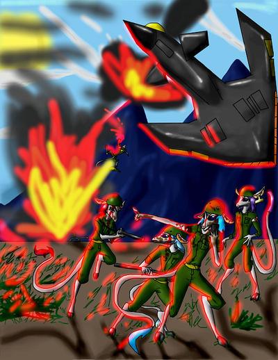 Mooncalves: Turf War by Valitel