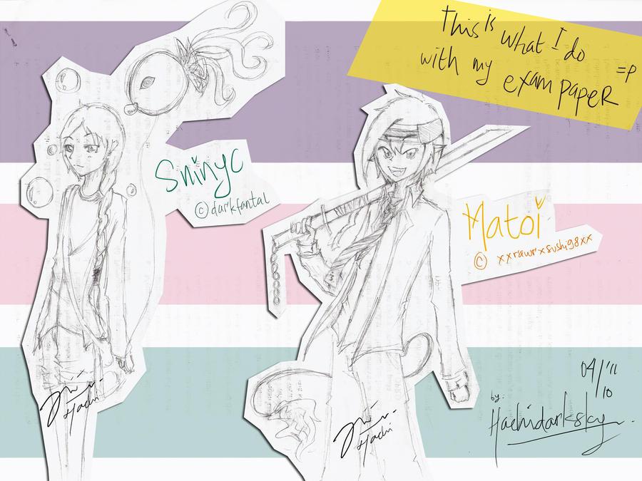 Sninyc and Matoi :3