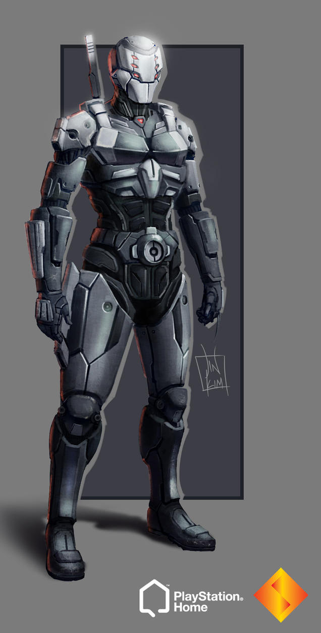 PS Home: Cyborg Ninja by geeshin