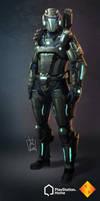 PS Home: Blackhawk Combat Suit