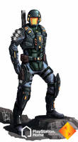PS Home: Rhino Combat Suit by geeshin
