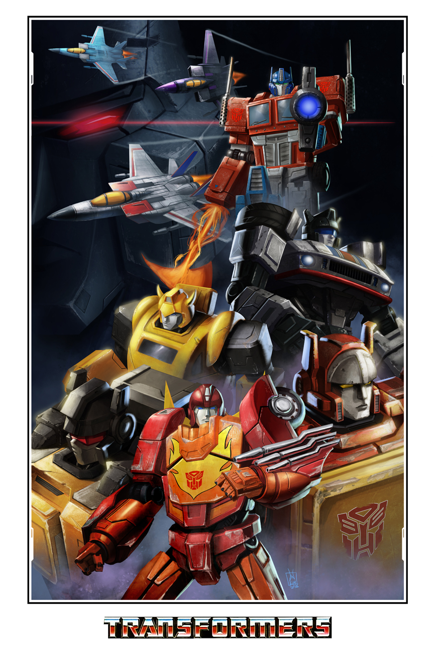 Transformers by geeshin