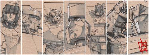 Transformer sketch teaser by geeshin