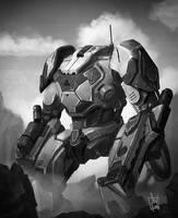 JAGS - Power Armor by geeshin