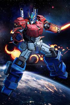 GundamXTransformers - Optimus Prime