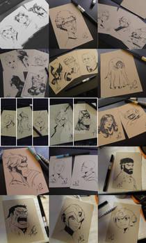 Portrait Sketches Galore!