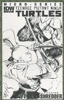 Usagi Yojimbo VS Shredder