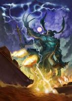 Mool - The Water Lord by Awaken-Destruction