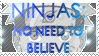 Ninja Stamp by FireMage9081