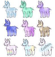 Doggo Adopts (8/9 OPEN) by ShadowWolfGirl44