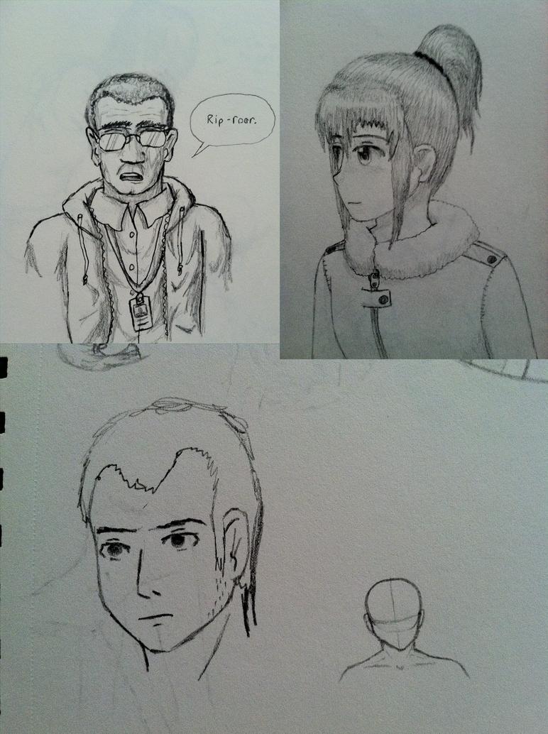 Pencildrawings1 by the0ne1