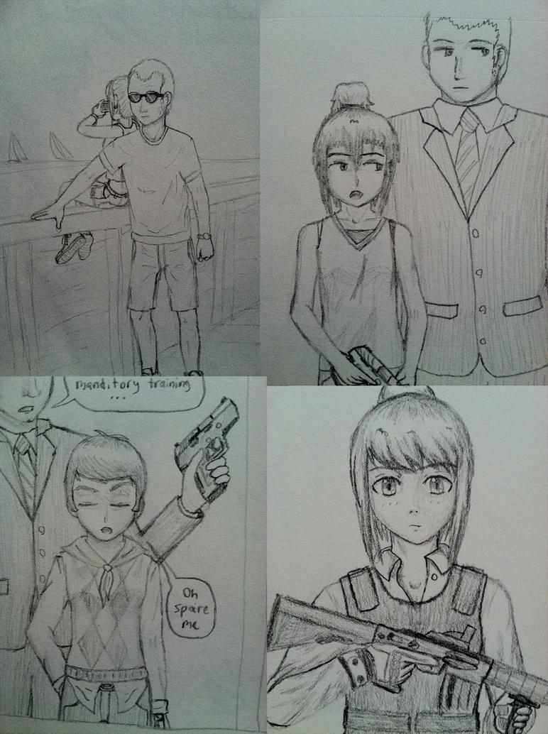 Pencildrawings2 by the0ne1