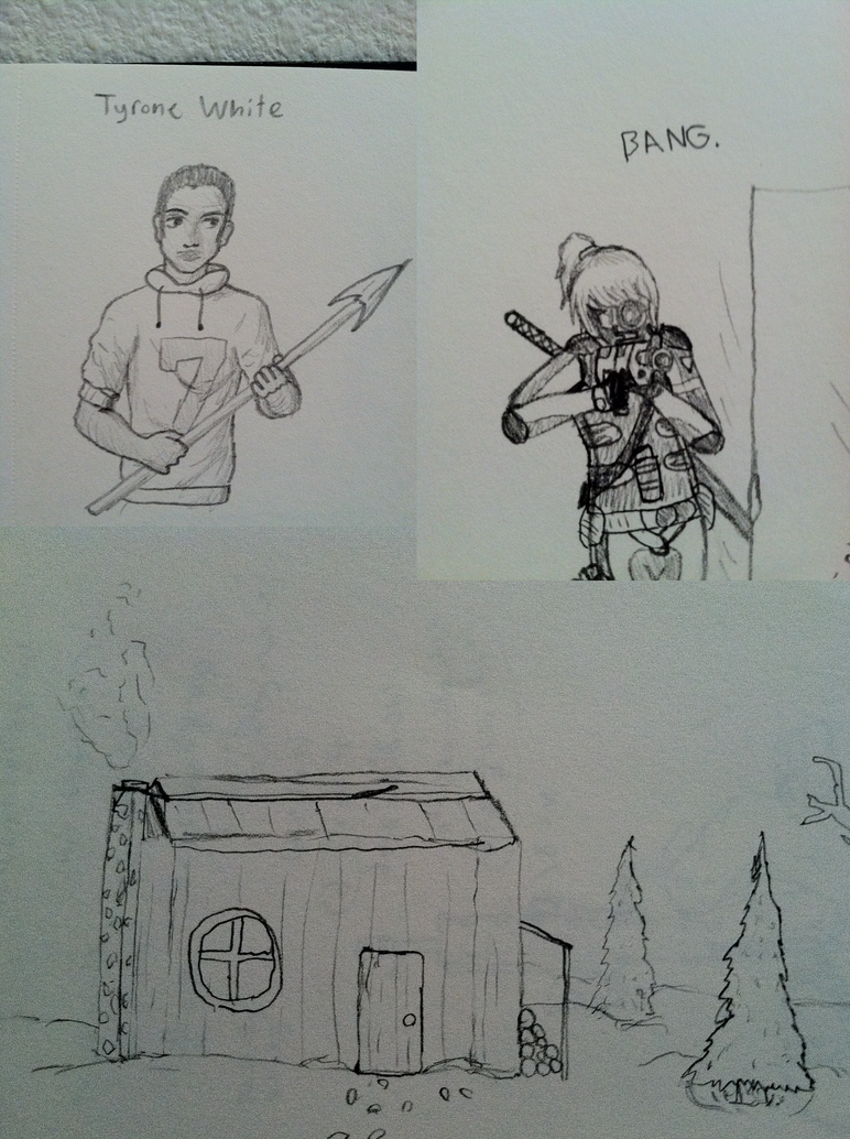 Pencildrawings5 by the0ne1