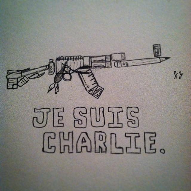 #Jesuischarlie by the0ne1