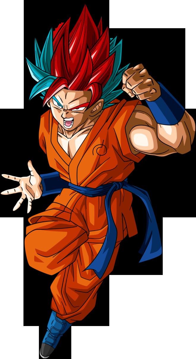 Goku ssj hibrido by narutosonic666 on deviantart - Sangoku super saiyan god ...