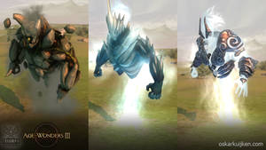 Age of Wonders 3 Elementals by OskarKuijken