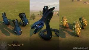 Age of Wonders 3 Snakes by OskarKuijken