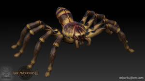 Age of Wonders 3 Hunter Spiders Sculpt by OskarKuijken