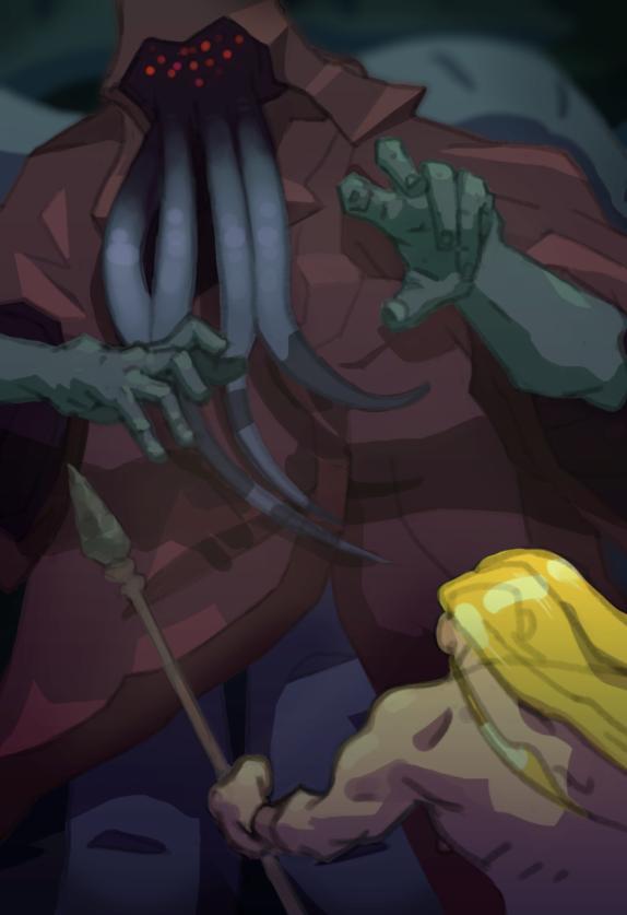 tentacleman_vs_goldenboy_by_oskarkuijken-d8hh0h9.png