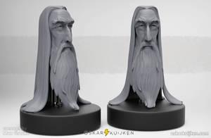 Saruman Tribute by OskarKuijken