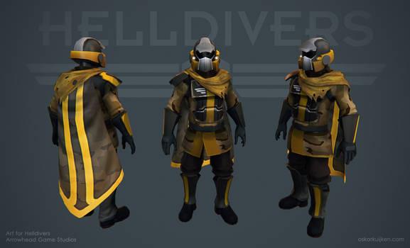 Helldivers - Desert Armor