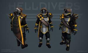 Helldivers - Demolitions Armor by OskarKuijken