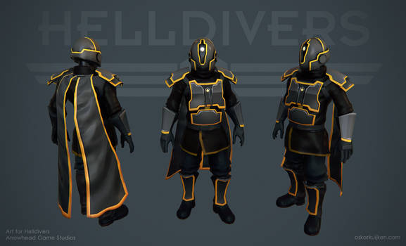 Helldivers - Black Ops Armor