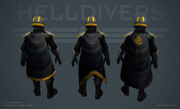 Helldivers - Starting Capes